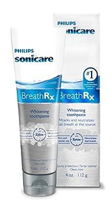 Philips Sonicare Breathrx Whitening Toothpaste 4oz