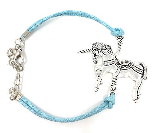 Panelize Einhorn Unicorn Armband mit Einhorn Anhänger wunderschön