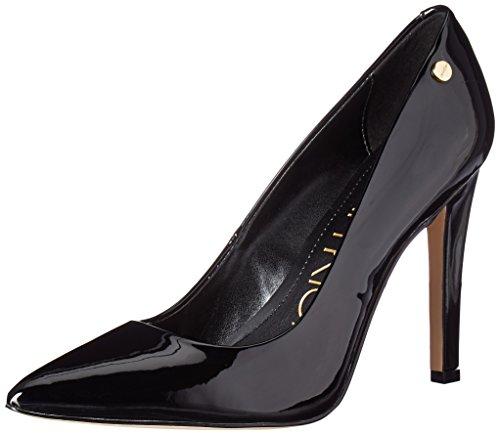 Calvin Klein Women's Brady Pump, Black Patent, 7