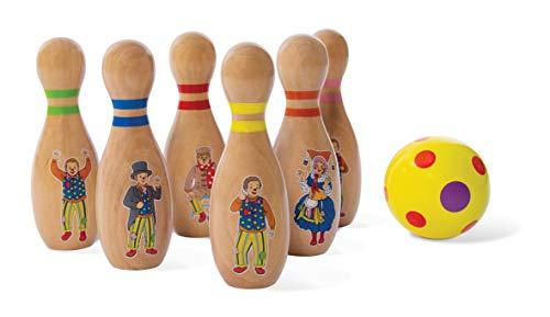 Mr Tumble 9016 Classic Skittles Set, Wooden