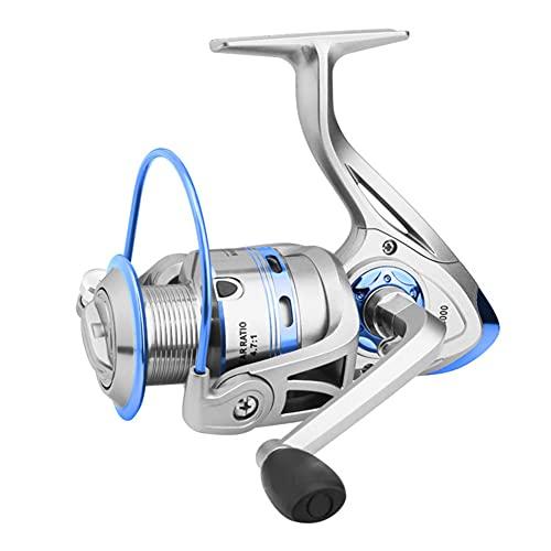 LIMESI Carretes de lanzado 12 BB Anti-Corrosión Agua Salada Spinning Carrete de Agua Salada Pesca de Carpa de Agua Dulce Potencia Máximo 8kg-FB5000