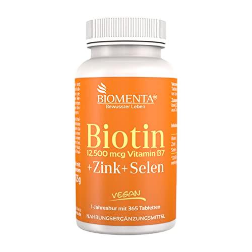 BIOMENTA -   Biotin hochdosiert