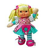 Zip-ity 14 Inch Activity Princess Doll - Blonde,Cloth in assorted