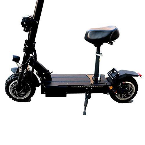 Ocio adulto / anciano scooter eléctrico de 3200 W de alta potencia inteligente plegable de dos ruedas scooter con 110-130 km scooter recargable de larga distancia con una velocidad máxima de 95 km / h