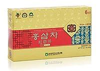 江原高麗人参農協 [Gangwon Insam NongHyup] 高麗紅参茶– 6歳の高麗紅参、韓国の健康食品、個別包装 (100砲)