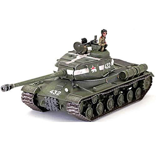 Yxxc Kits de Modelos Modelo de plástico de Tanque Fundido a Escala 1/72, Tanque Pesado IS-2 de Alemania de la Segunda Guerra Mundial, Juguetes y Regalos Militares