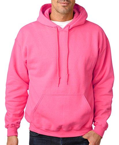 Gildan HeavyBlend, hooded sweatshirt Safety Pink S
