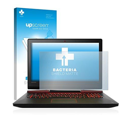 upscreen Antibakterielle Entspiegelungs-Schutzfolie kompatibel mit Lenovo IdeaPad Y900 (17.3