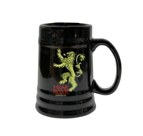 Juego de Tronos SDTHBO02898 - Jarra de cerámica diseño Lannister, color negro (SD Toys SDTHBO02898) - Jarra cerámica negra Lannister