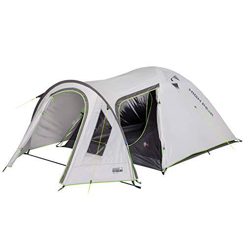 High Peak koepeltent Kira 3 4 5 personen iglo-tent camping trekking voortent.