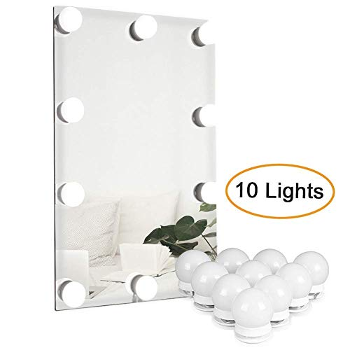 10W Led Mirror Light, 10 Dimmable Make-up Light 4000K Make Up Light, Beauty Dressing Table Lamp, lámpara de espejo para tocador espejo tocador espejo de baño