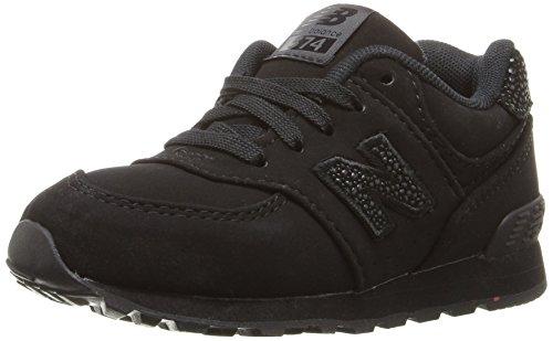New Balance New Balance Jungen Kl574 Sneaker, Black Ec, 38.5 EU