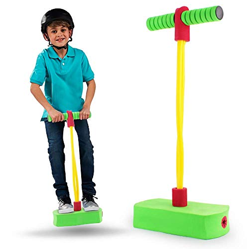Boley Pogo Jumper - Foam and Rubber Pogo Stick for Kids and Adults - Durable, Lightweight, and Easy to Store for Indoor and Outdoor Use