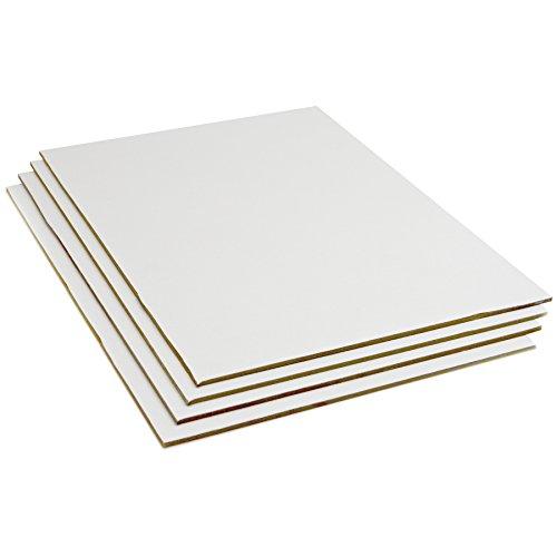 Lienzos Levante Juego de 4 Tablillas, Entelada, Imprimación