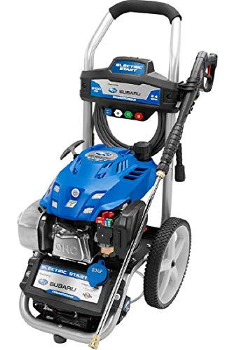 Lowest Price! Powerstroke 3100 Psi Pressure Washer W/Subaru Electric Start Engine Brand