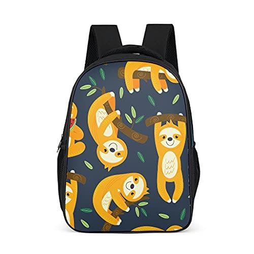 Lindo perezoso mochila ligera mochila escolar regalos para niños adolescentes estudiantes para viajes escolares