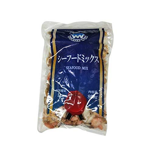 【冷凍】 シーフードミックス 800g TW印 海鮮 あさり イカ えび