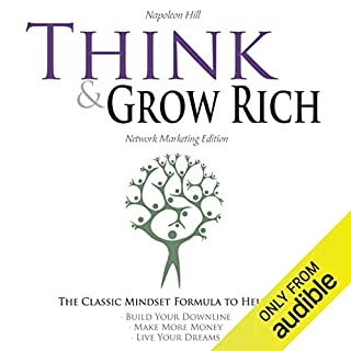Think and Grow Rich - Network Marketing Edition audiobook cover art