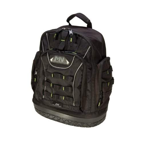 Nupla 67419 Black Label Rubber Bottom Back Pack, 1680 Dernier Ballistic...