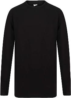 SF Mens Long Sleeve Longline T-Shirt
