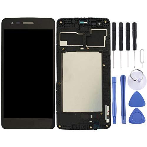 MENGHONGLLI Pantalla LCD del teléfono Celular Montaje Completo de Pantalla LCD y digitalizador con Marco para LG K8 2017 US215 M210 M200N Pantalla táctil del teléfono