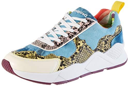 Desigual Damen Shoes Hydra HYBRID Sneaker, Blau (Jeans 5006), 40 EU