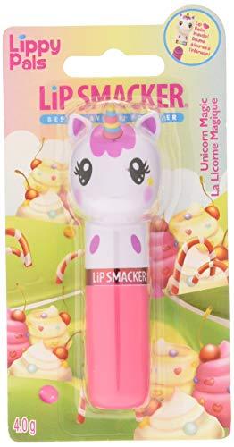 Markwins Lip Smacker Lippy Pals mit Einhorn Kopf - Lippenpflegestift mit Unicorn Magic Geschmack