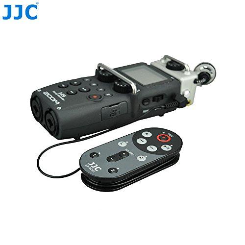 JJC SR-RCH5 - Telecomando con cavo anti-vibrazione per registratore ZOOM H5, sostituisce ZOOM RCH5