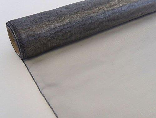 Stof Organza 9m x 40cm transparant tafelloper sluier tutu verschillende kleuren