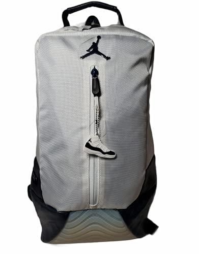 Jordan New Other Retro 11 Basketball Back Pack (One Size, White/Obsidian)