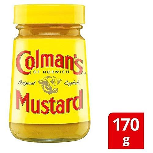 4x Colmans Original Englisch Senf 170G