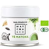 Matcha 100% Ecológico (30 g)   Té verde en polvo Orgánico de Japón   Té Matcha de grado ceremonial BIO   Matcha & CO