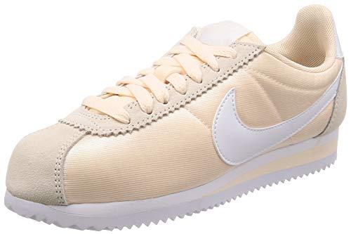 Nike Wmns Classic Cortez Nylon, Scarpe Running Donna, Multicolore (Guava Ice/White 803), 38.5 EU