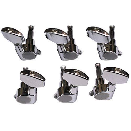 Cuerda de guitarra clavijas Machine Heads, cerrado, Acústico y Eléctrico Gear tuner-1Set (3L, 3r)