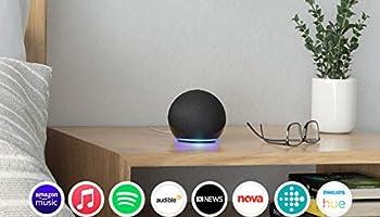 Echo Dot (4th Gen)   Smart speaker with Alexa   Charcoal