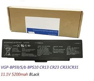 11.1V 5200Mah New Quality Laptop Battery Compatible with Sony VGP-BPS9/S/b VGP-BPL9 BPS10 BPS9 CR23 CR33CR31
