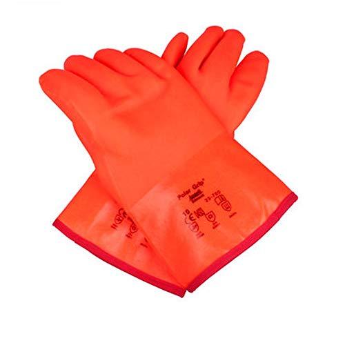 Peijco Antifreeze handskar med låg temperatur beständiga handskar vattentäta och flytande kvävehandskar kall förvaring vätskeföring vätskedriven naturgasskydd – 80 grader