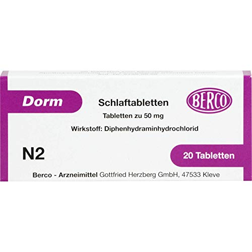 Dorm Schlaftabletten, 20 St. Tabletten