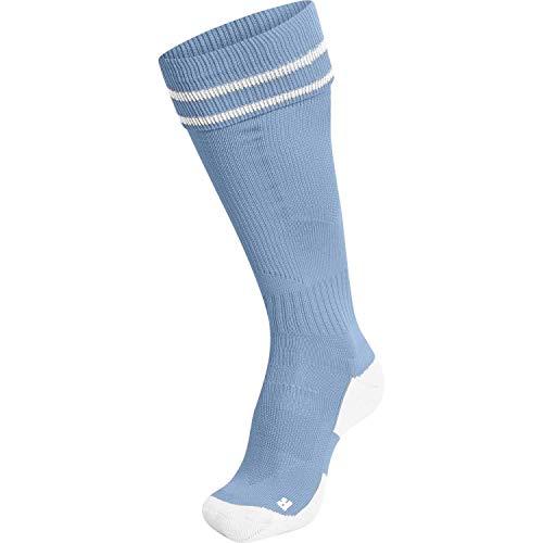 hummel Element Fußballsocken, Argentina Blau/Weiß, 43/45