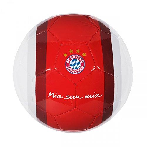 FC Bayern Ball Mia san mia rot/weiß Gr. 5