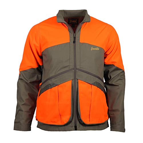 Gamehide Upland Field Hunting Jacket (Khaki/Orange, 4X-Large)