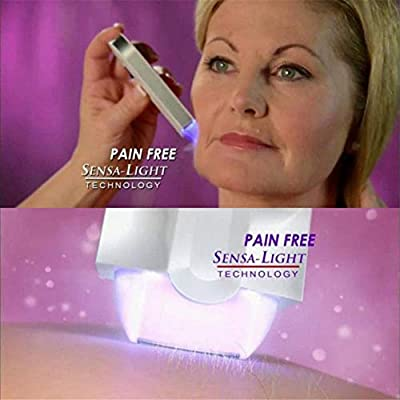Balight Epilator Lady Women Instant Pain Free Rechargeable Hair Remover for Full Body Leg Arm Bikini from Balight