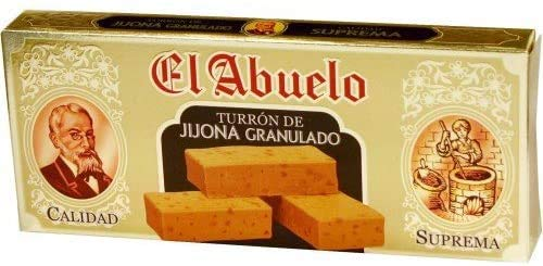 Turrón de Jijona El Abuelo, 300 gramos