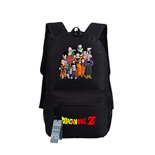 Sac à Dos Anime Unisexe Enfant Sac Etudiant Notebook Sac De Voyage Pour L'école Garçons Filles Hommes Femmes Loisirs Dragon Ball Z 04