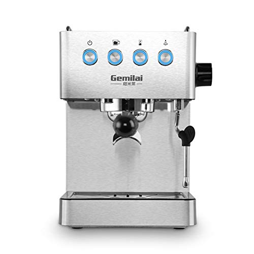 Find Bargain Coffee Machine, Italian, Semi-Automatic Steam Pump, Electronic Temperature Control, Sta...