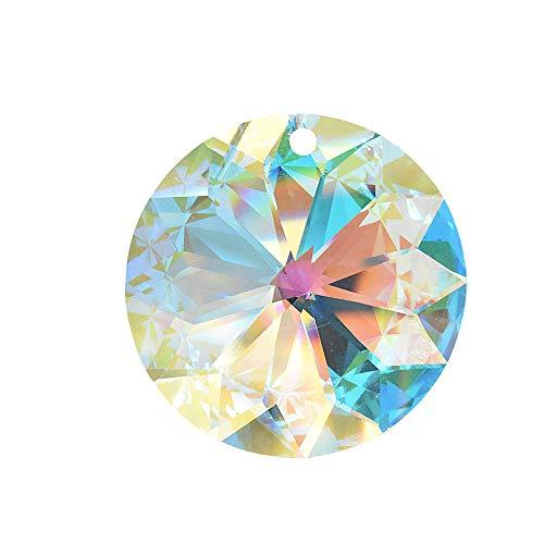 Kristal zon ø 40mm Aurora Boreale in fijn cadeauzakje hoog briljant regenboogkristal Feng Shui raamdecoratie 30% loodkristal kleurrijk