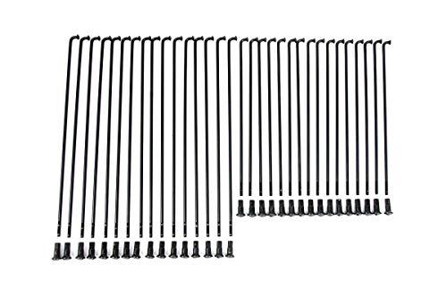 Speichensatz (Kleeblatt) für Simson AWO 425 Touren - Hinterrad - schwarz