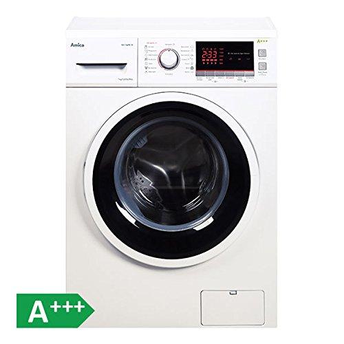 Amica WA 14690W autonome Belastung Bevor 7kg 1400tr/min A + + + Weiß Waschmaschine–Waschmaschinen (autonome, bevor Belastung, weiß, links, LED, Rot)