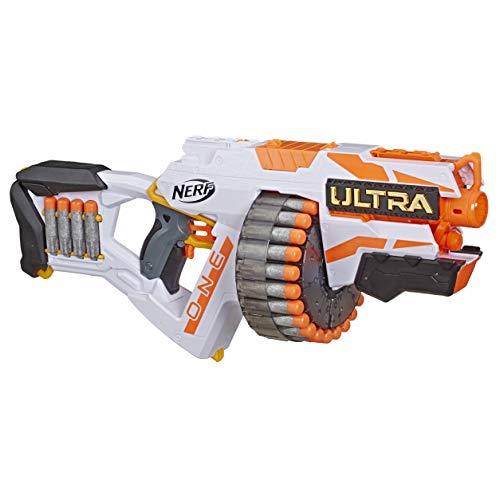 Hasbro Nerf Ultra One Blaster Motorizzato, Include 25 Dardi Nerf Ultra, Compatibile Soltanto con i Dardi Nerf Ultra