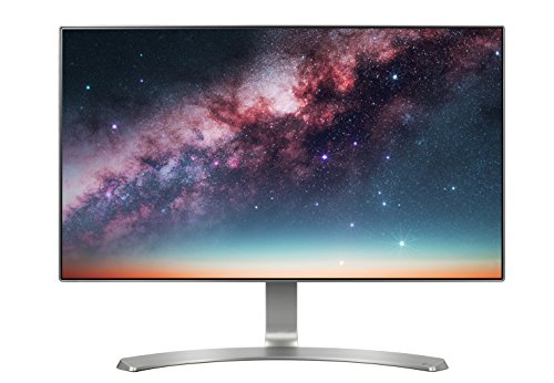 LG 24MP88HV-S 24-Inch IPS Monitor with Infinity Display 2.5mm Bezel, Black